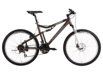Hawk Blackline 22 FS vtt suspendu marron